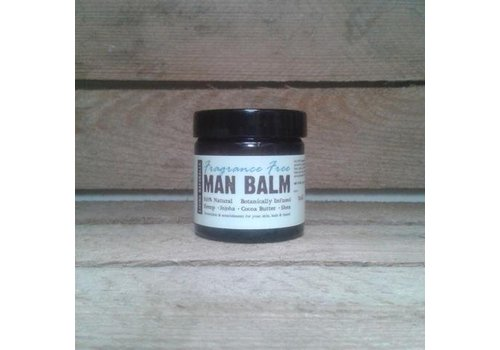 Living Naturally Man Balm - Fragrance Free