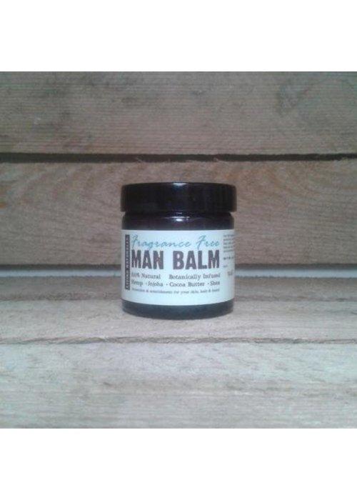 Living Naturally Man Balm - Fragrance Free