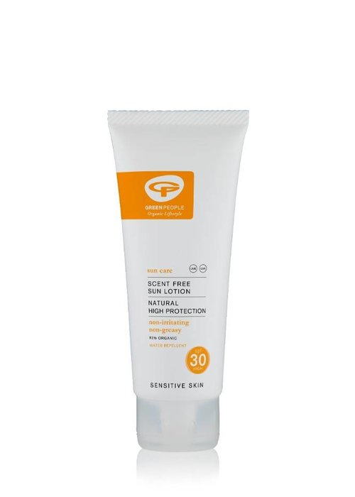 Green People Sun Lotion Scent Free SPF30