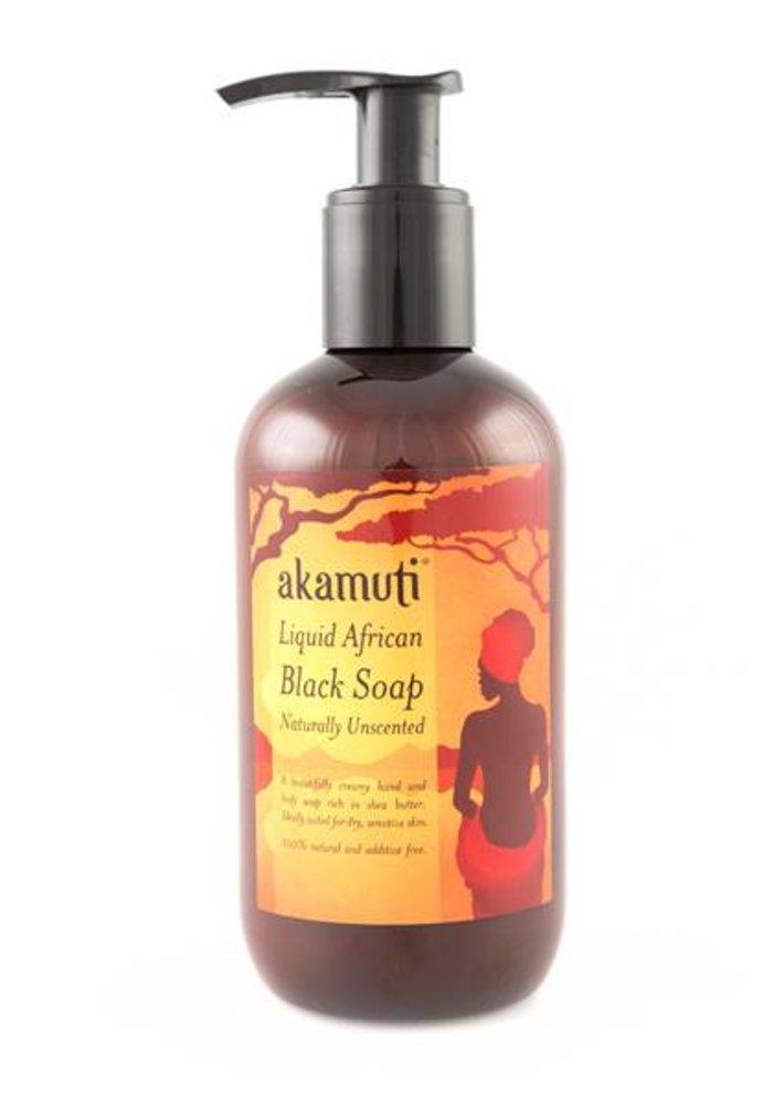 Liquid African Black Soap