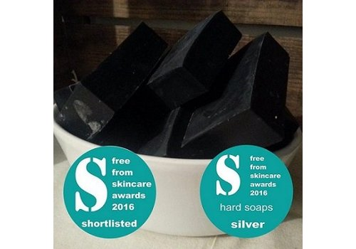 Living Naturally Soap Bar - Activated Charcoal