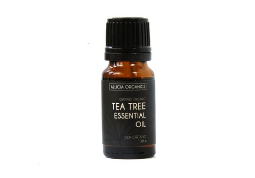 Alucia Organics Essential Oil: Tea Tree : Organic: 10ml