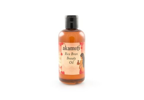 Akamuti Carrier Oil: Rice Bran Beauty