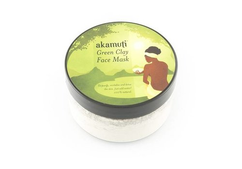 Akamuti Face Mask: Green Clay