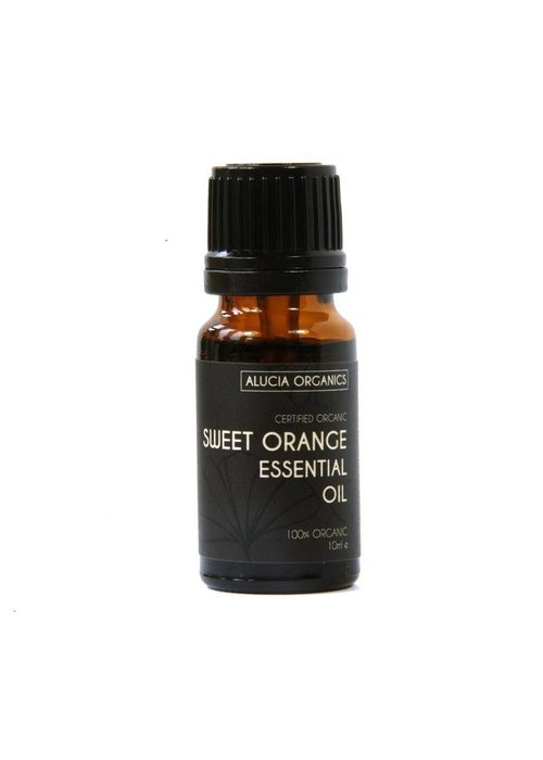 Alucia Organics Essential Oil: Orange (Sweet) : Organic 10ml