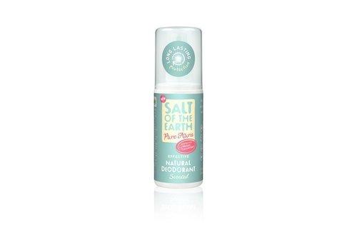 Salt of the Earth Natural Deodorant Spray - Pure Aura Melon
