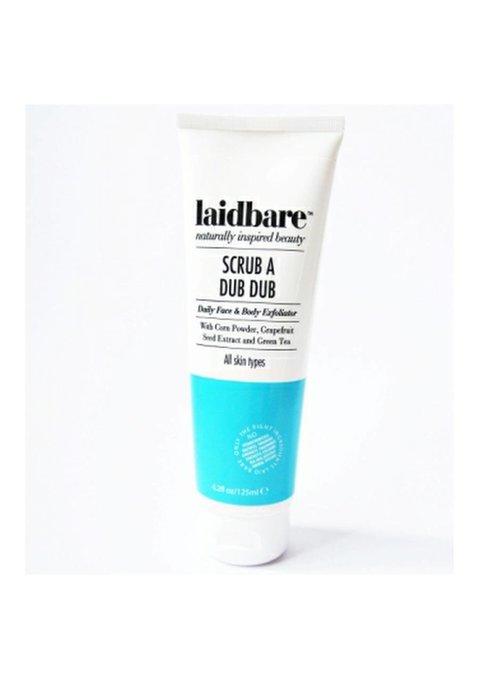 Laidbare Scrub A Dub Dub Daily Facial Exfoliator