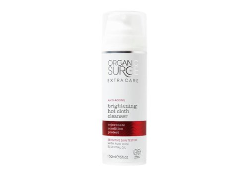 Organic Surge Organic Face Wash - Brightening Hot Cloth Cleanser