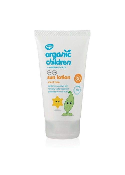 Green People Children Sun Lotion SPF30 - Scent Free 150ml