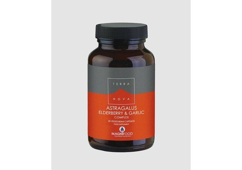 Terranova Astragalus, Elderberry and Garlic