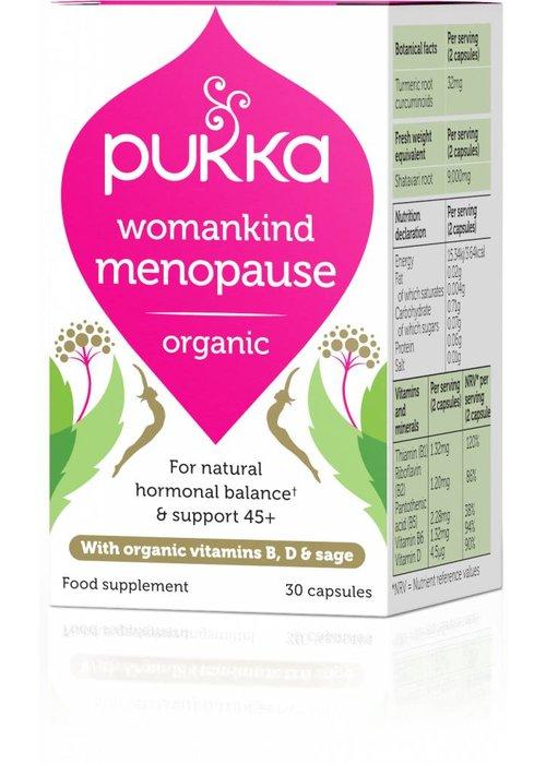 Pukka Womankind Menopause, Organic