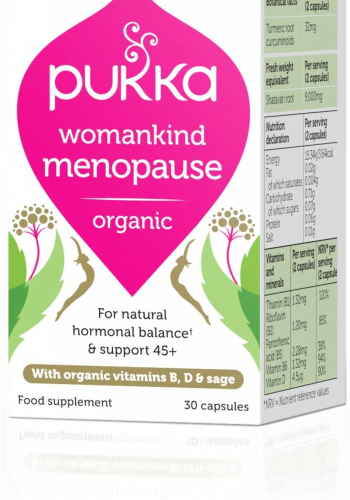 Womankind Menopause, Organic
