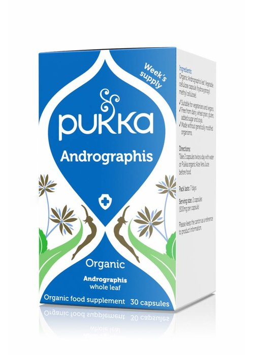 Pukka Andrographis, Organic