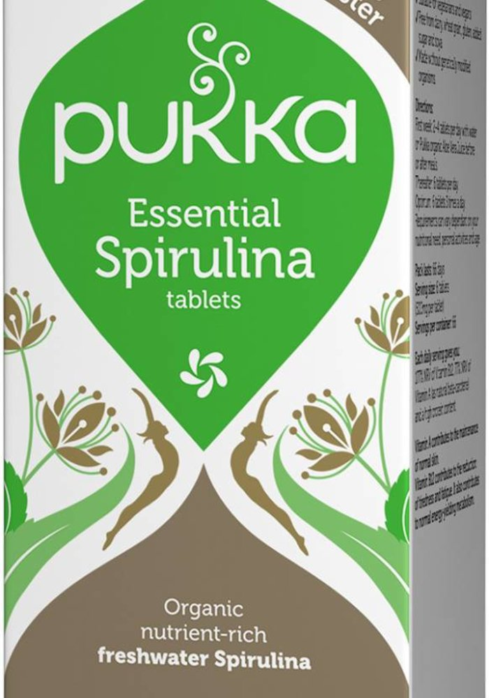 Essential Spirulina, Organic