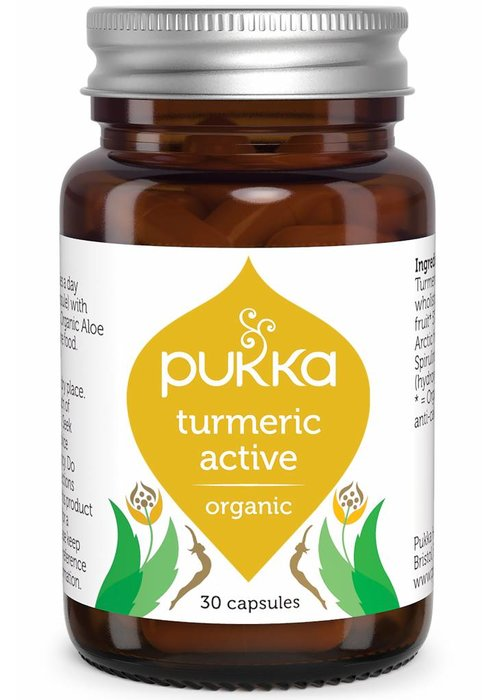 Pukka Turmeric Active, Organic
