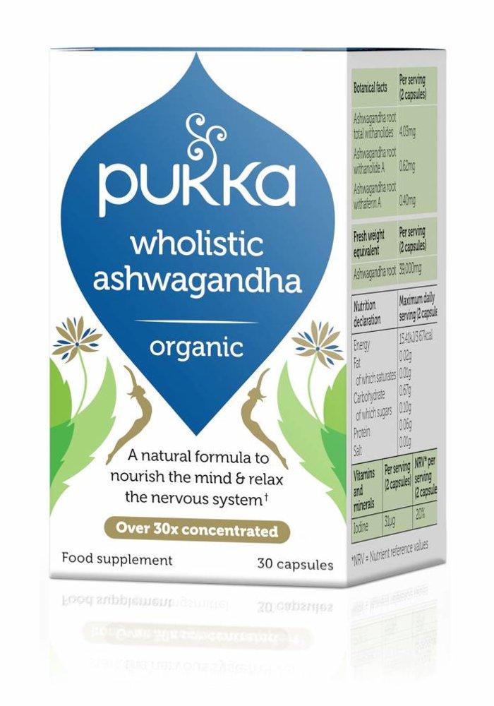 Ashwagandha, Organic