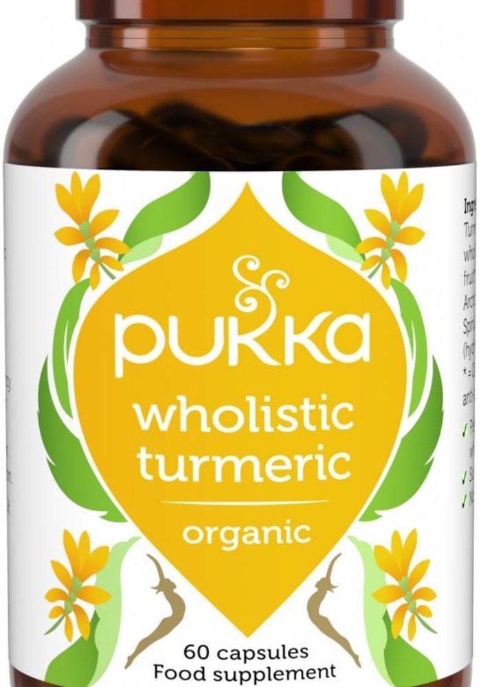 Wholistic Turmeric, Organic