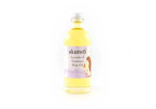 Akamuti Body Oil: Lavender and Geranium