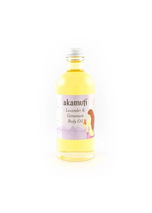 Akamuti Body Oil: Lavender and Geranium