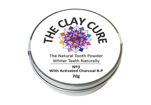 The Clay Cure Tooth Powder - Activated Charcoal