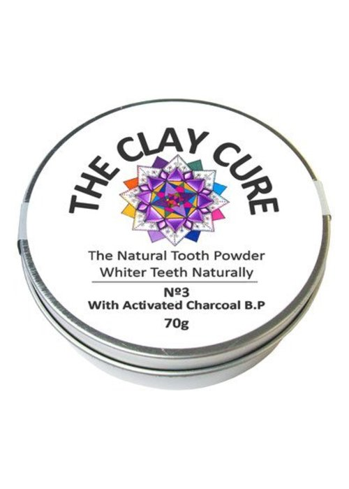 Clay Cure Tooth Powder - Activated Charcoal