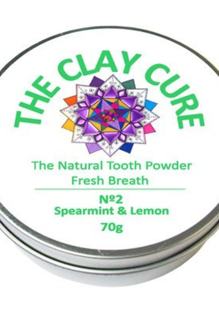 Tooth Powder - Spearmint and Lemon