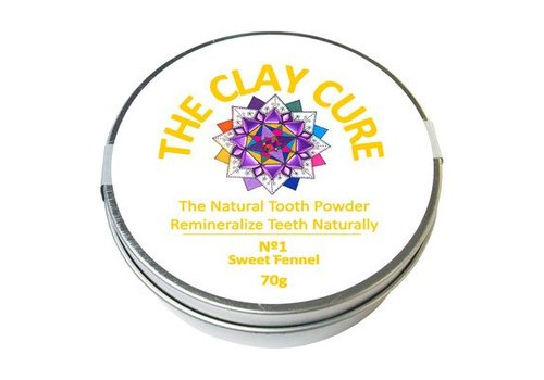 The Clay Cure Tooth Powder - Sweet Fennel