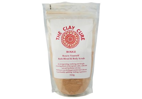 The Clay Cure Bath Blend & Body Scrub - Rouge