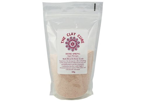 The Clay Cure Bath Blend & Body Scrub - Home Spring