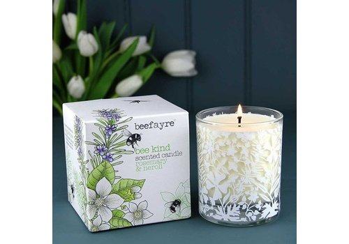 Beefayre Bee Kind Rosemary and Neroli Candle