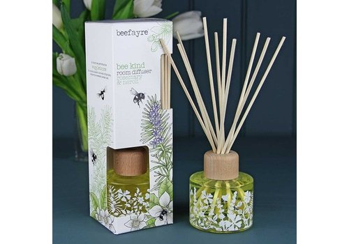 Beefayre Beekind Rosemary and Neroli Reed Diffuser