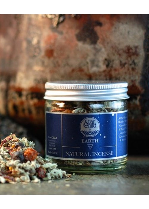 Star Child Natural Incense - Earth