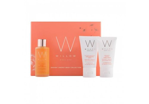 Willow Body Collection - Radiant Energy with Lemon and Green Mandarin
