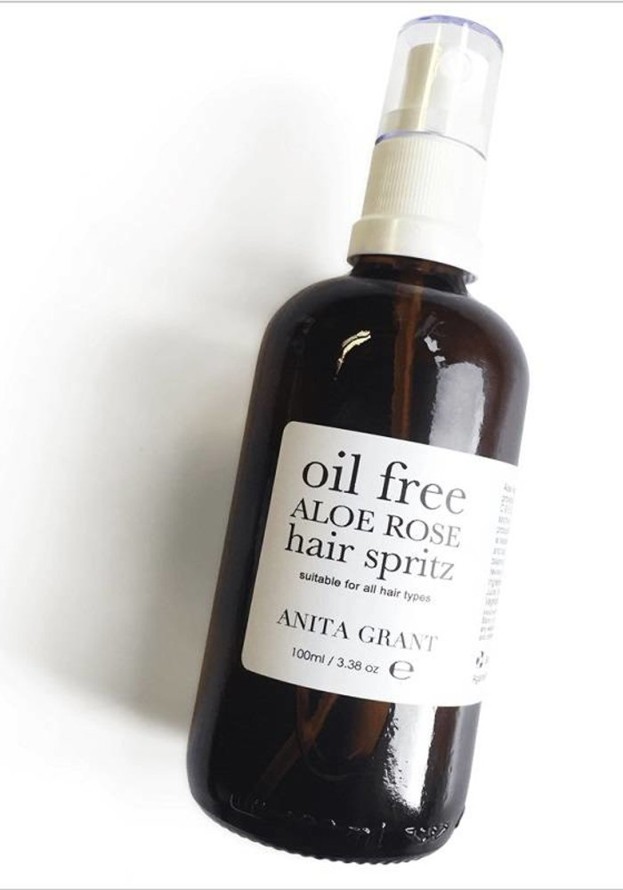 Aloe Rose Oil Free Hair Spritz: Leave-in Conditioning Spray