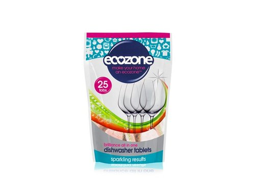 EcoZone Dishwasher Tablets: Brilliance All In One