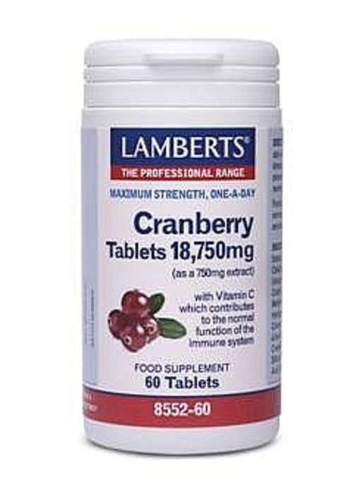 Lamberts Cranberry with Vitamin C 60 tablets
