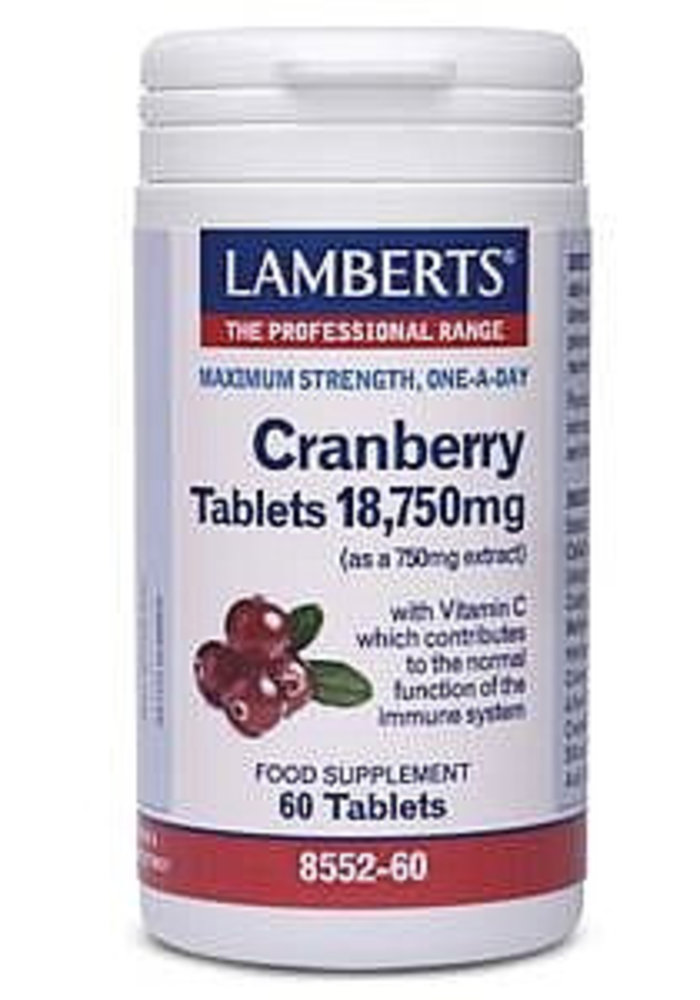 Cranberry with Vitamin C 60 tabs