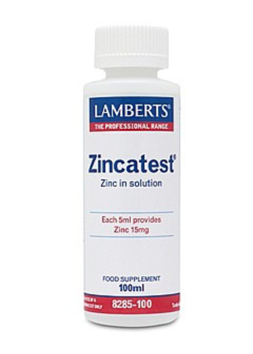Lamberts Zincatest - Zinc in Solution 100ml