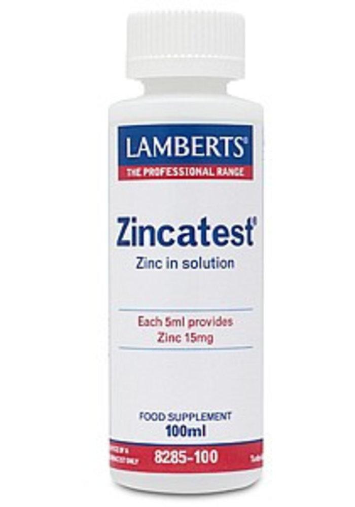 Zincatest - Zinc in Solution 100ml