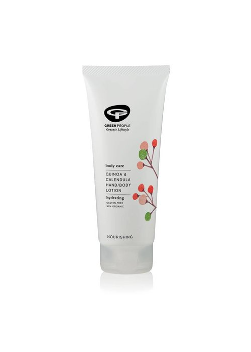 Green People Quinoa and Calendula Hand and Body Lotion