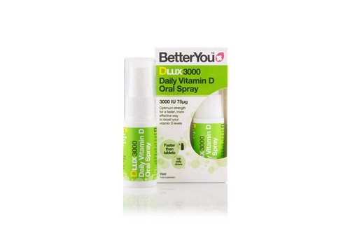 BetterYou Dlux 3000 Oral Spray 15ml