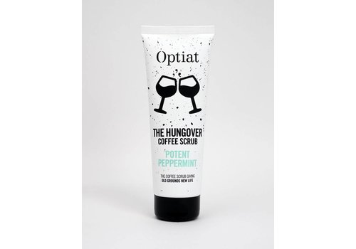 Optiat Potent Peppermint Coffee Scrub