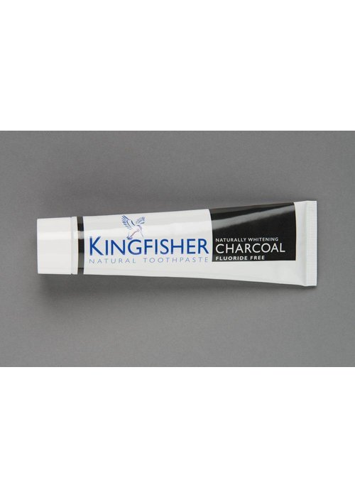 Kingfisher Toothpaste - Charcoal Fluoride Free 100ml