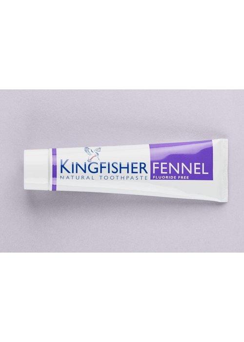 Kingfisher Toothpaste - Fennel Fluoride Free 100ml