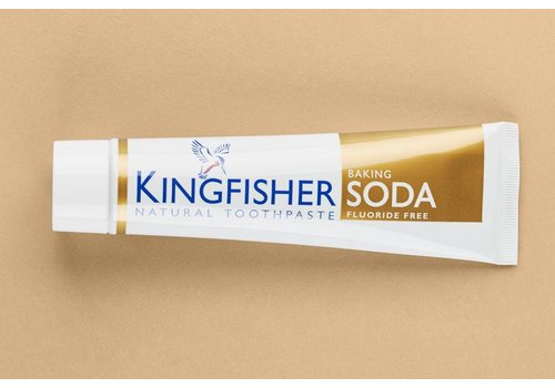 Kingfisher Toothpaste - Baking Soda Fluoride Free 100ml