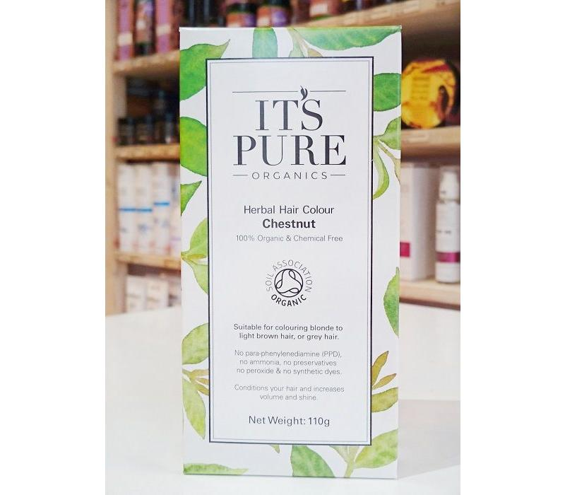 Organic Chestnut Henna Powder 110g