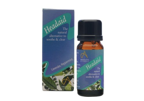 Absolute Aromas Essential Oil Blend: Headaid 10ml