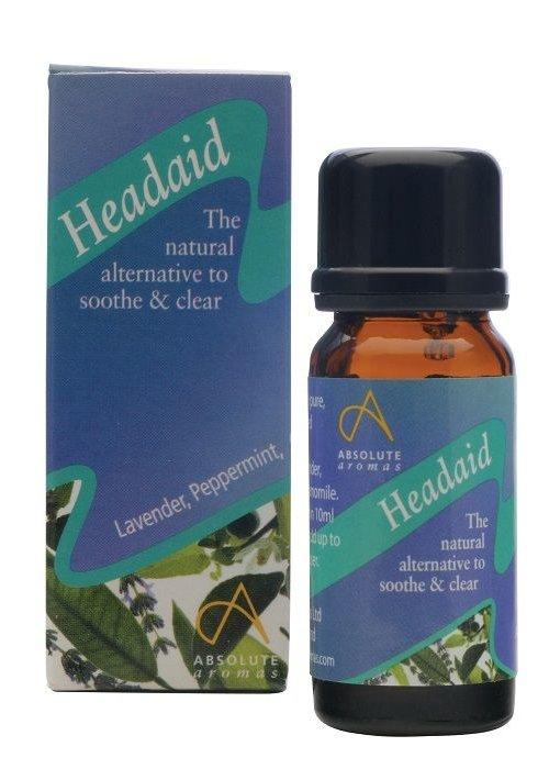 Absolute Aromas Essential Oil Blend: Headaid 10ml