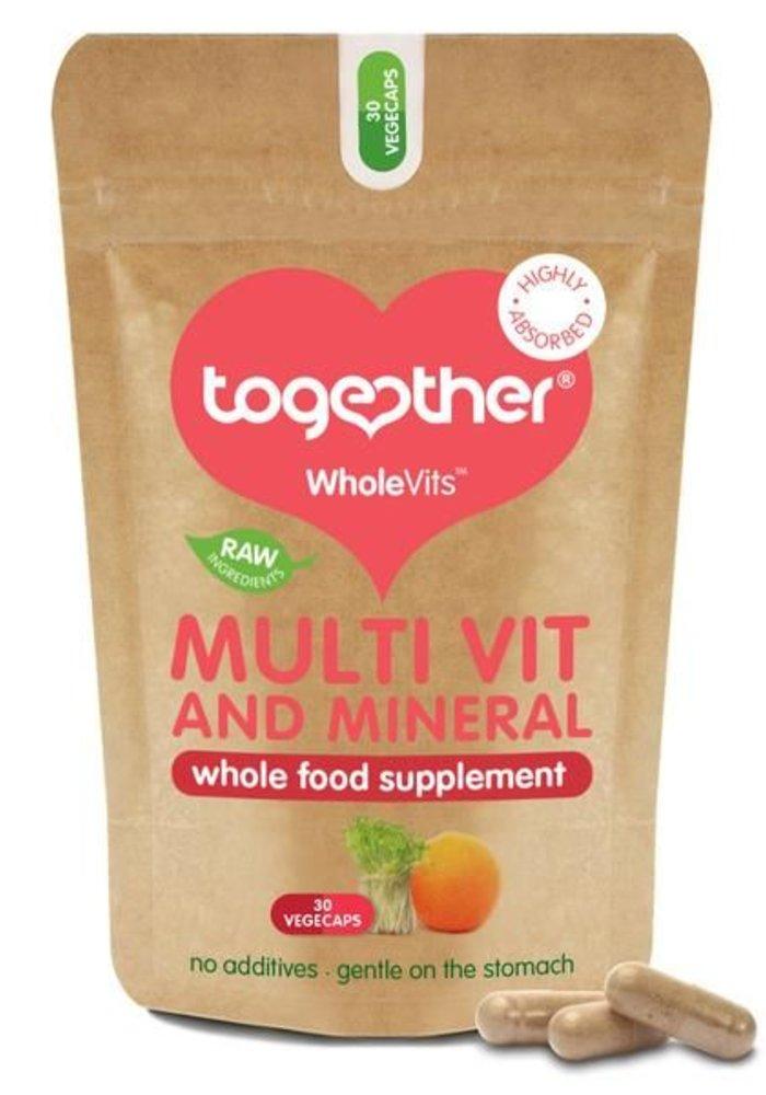 Multi Vit and Mineral Whole Food Formula