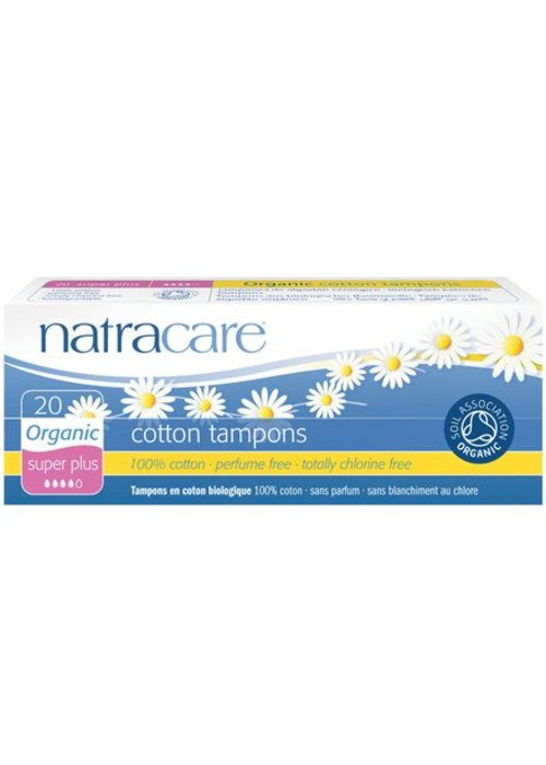 Natracare Natural Organic Cotton Tampons - 20s